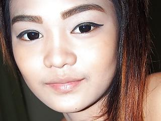 Silky Pubic Hair Plus Sweet Thai Pink Unexpressive