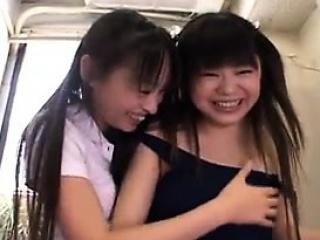 Hot amateur asian babes triplet HD video 2