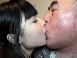 Talented asian girl stuffs mouth with will not hear of boyfriend's penis