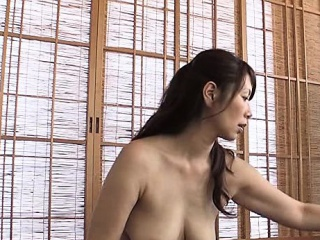 Amateur Hairy Asian MILF tied to the bed