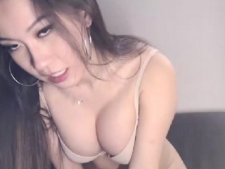 A Yummy Asian Co-Ed In Homemade Porn Show