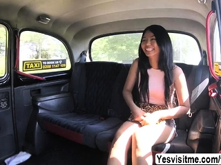 Hot Thai Jureka loves all round ride plus suck Scottish big cock