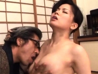 Breathtaking older hardcore fake with a japanese babe