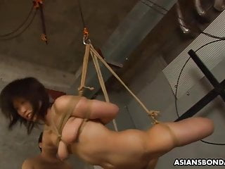 Kinky Kana Sato is getting throatfucked and made-up to cum