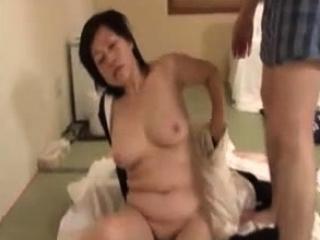 Passionate Japanese hardcore fuck with slut