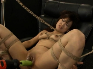 Classy Mari Kamiya is about to function with a sex gadget