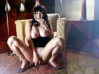 Farcical Japanese trollop Honami Uehara in Best JAV censored Masturbation, Big Tits movie