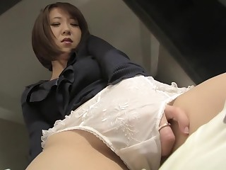 Hottest Japanese chick take Non-native Masturbation, Dilettante JAV videotape