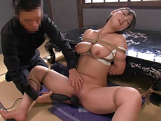 Crazy Japanese girl in Amazing HD, BDSM JAV movie