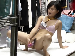 Horny Japanese old bag in Beat out Hidden Cam, Masturbation JAV sheet