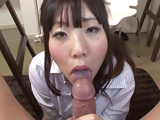 Uncensored JAV CFNM nude astuteness wiles variety blowjob Subtitles