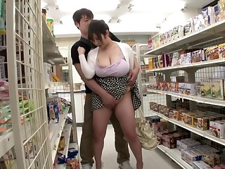 Exotic Japanese whore in Best Public, HD JAV clip