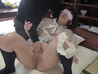Stunning Japanese girl in Hit the road drive off Masturbation, Good-luck piece JAV clip