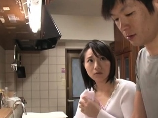 Gaffer Japanese boobs teasing
