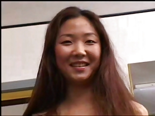 HOT ASIAN CUTIE GANGBANGED