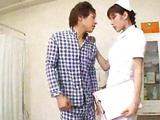 Sexy Hot Asian Japanese Care Gives Hot Blowjob To Her Covering