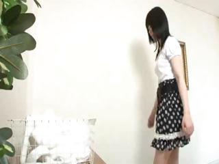 Hot Japanese Lesbian Rub down 5